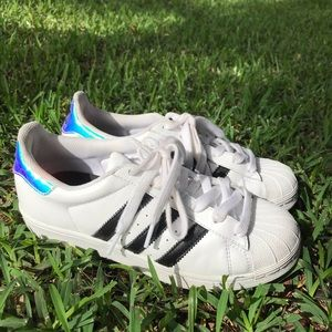 Adidas Superstar Women's holographic